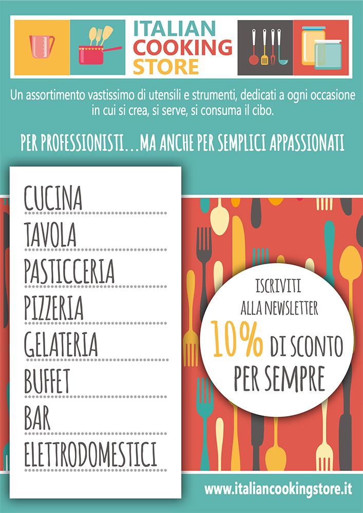 Volantino italian cooking store